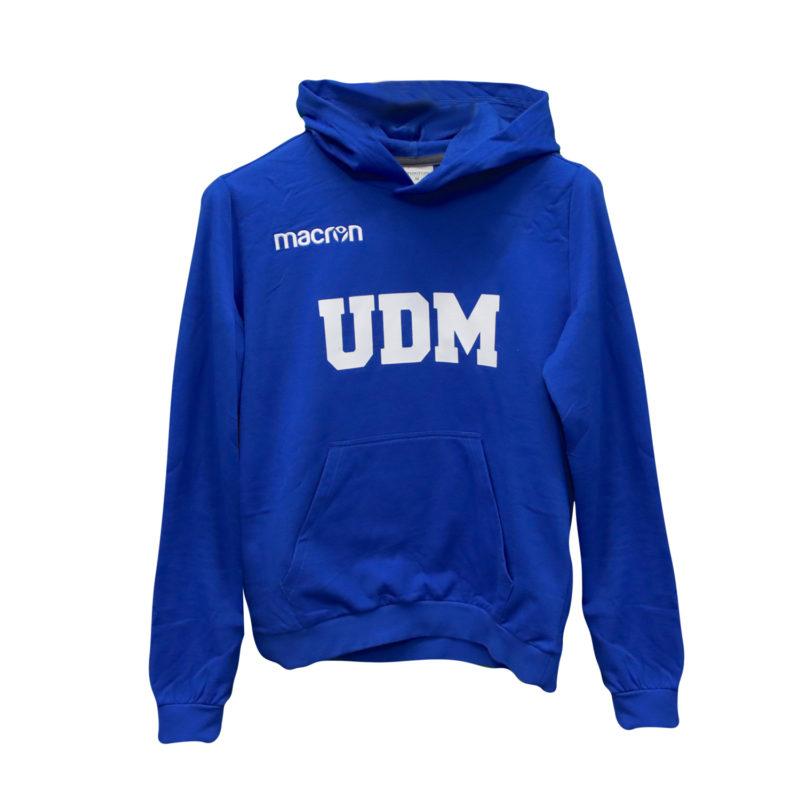 Sudadera azul UDM